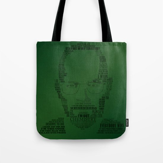 Breaking Bad:  Walter White Tote Bag