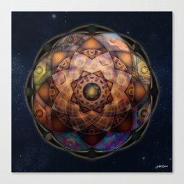 ∆ Astral Canvas Print