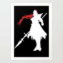 The Dragonslayer: Inverse Art Print