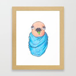 Space Worms II : Worms in Space The Prequel Framed Art Print