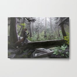 Coastal Rainforest Metal Print