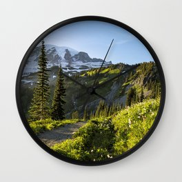 A Hike to Remember Wall Clock