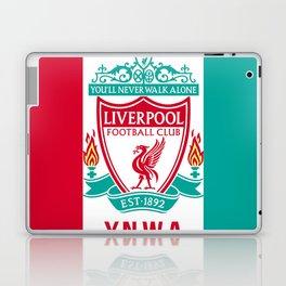 Liverpool Flat Design Laptop & iPad Skin