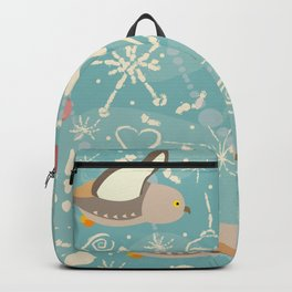 Winter Owls Backpack