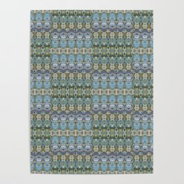 Colorful Luxury Ornate Pattern Poster