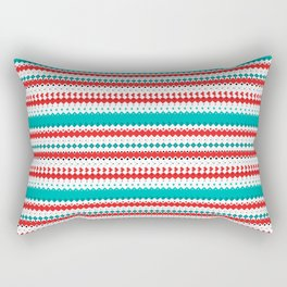 Rombo Pattern Rectangular Pillow