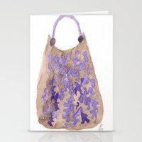 tote bag Stationery Cards featuring Tote 1 by ©valourine