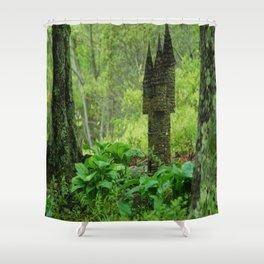 Fairy House Shower Curtain