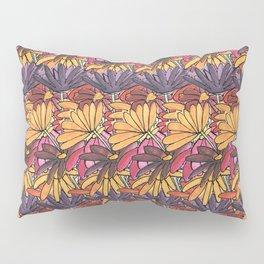 Summer Flowers Pattern Pillow Sham