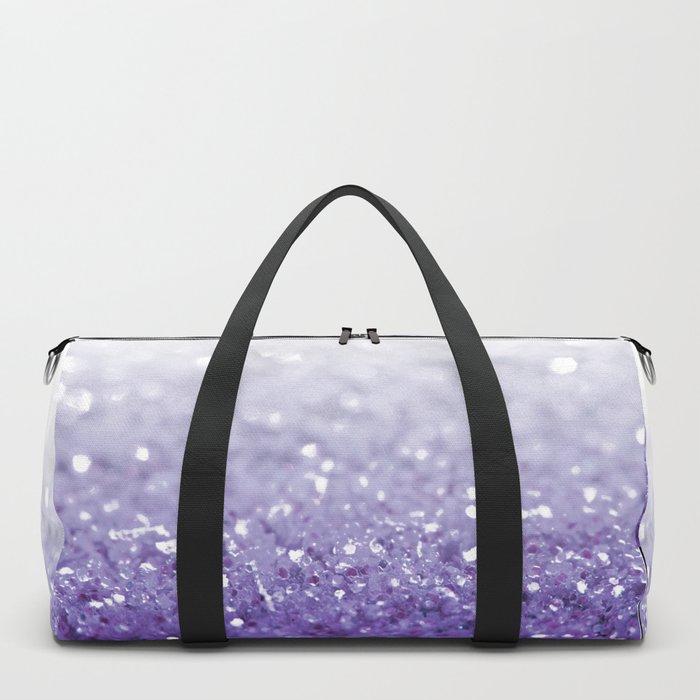 MERMAIDIANS PURPLE GLITTER Duffle Bag