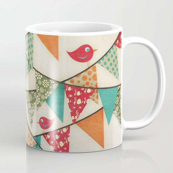 Home Birds 'N' Bunting. Mug