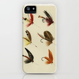 Lake Flies from Favorite Flies and Their Histories by Mary Orvis Marbury2 iPhone Case