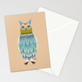 Hoot Owl Stationery Cards