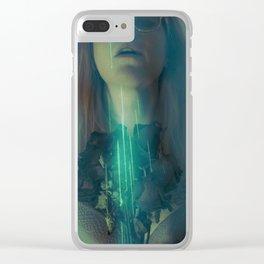 A Fawn's Dark Eyelids II Clear iPhone Case