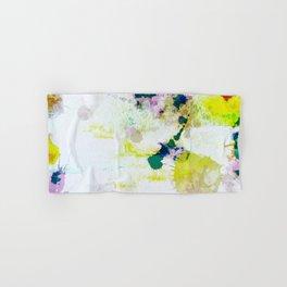 Abstract Paint Splatter Art Hand & Bath Towel