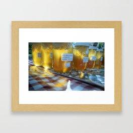 Honey Glow Framed Art Print