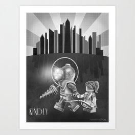 The Underwater Utopia Art Print