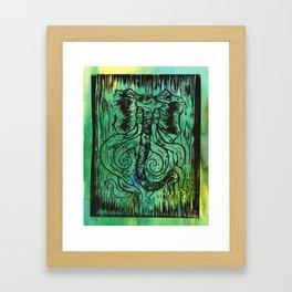 elepus-octophant Framed Art Print