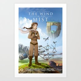 The Wind in the Mist Art Print