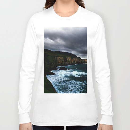 Irish Seascape Long Sleeve T-shirt