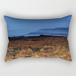 Seaweed Beach at Dusk Rectangular Pillow