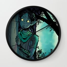 Eluvian Wall Clock