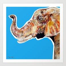 Elephan 2 Art Print