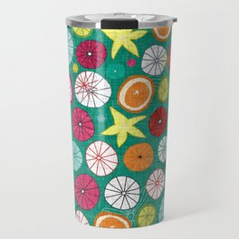 umbrellas jade Travel Mug