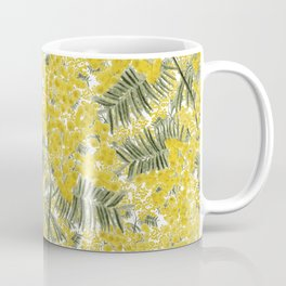 Yellow Mimosa Coffee Mug