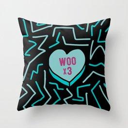 Convo Heart 02 Throw Pillow