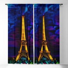 Paris Starry Night by Jeanpaul Ferro Blackout Curtain