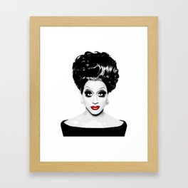 Bianca Del Rio, RuPaul's Drag Race Queen Framed Art Print
