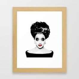 Bianca Del Rio, RuPaul's Drag Race Queen Framed Art Print