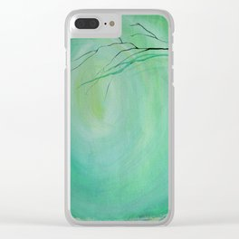 Whimsical Forest Clear iPhone Case