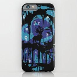 Deer God iPhone Case