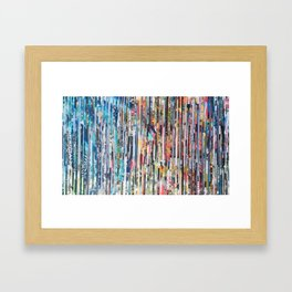 STRIPES 26 Framed Art Print