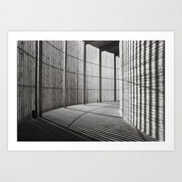 Chapel of Reconciliation in Berlin - duplex Art Print