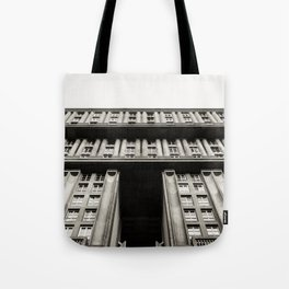 Facade of a monumental residential building I Tote Bag