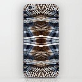 Ethnic hand drawn shibori iPhone Skin