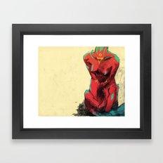 Disappear Framed Art Print