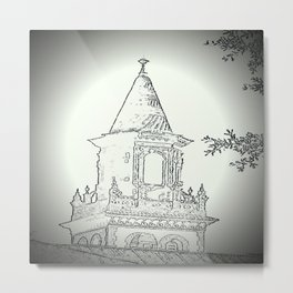 Holy Architecture Metal Print