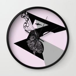 Away from here Wall Clock