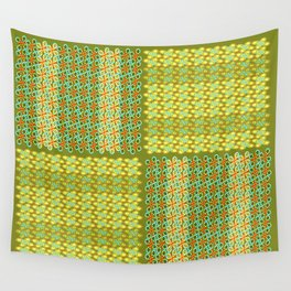 Westwork Patchwork II -Yello Wall Tapestry