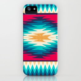 SURF GIRL CHEVRON iPhone Case