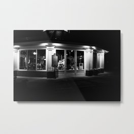 The Carousel Metal Print