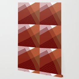 Falun Red Polkadots Wallpaper