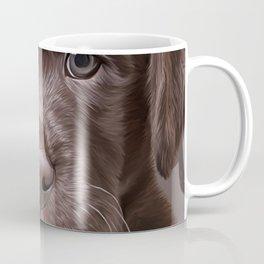 Drawing puppy Labrador Coffee Mug