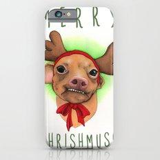 Chrismas Card - Merry Chrishmush  iPhone 6s Slim Case