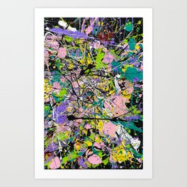 Colors in a Field Art Print