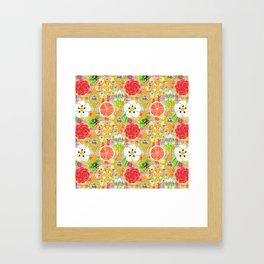 4160 Tuesdays Rainbow Botanicals Framed Art Print